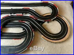 Scalextric Sport Large Layout with Long Flyover / Lap Counter & 2 Cars