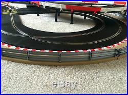 Scalextric Sport Layout with Lap Counter / Corner Xovers & 2 Cars