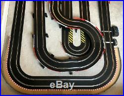 Scalextric Sport Layout with Long Flyover / Hairpin / Lap Counter & 2 Cars