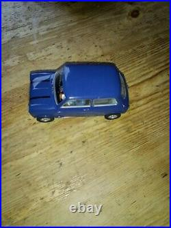 Scalextric Track Set, The Italian Job, With 2 Mini Cars, In Very Good Condition