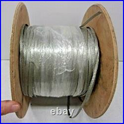 Slot Car Track Braid 1/4 Tinned Copper Non-magnetic 24-10-36 1000ft Roll