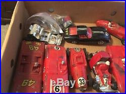 Strombecker Road Racing Track Ultra Rare Collection Plus Rare Cars Deadstock