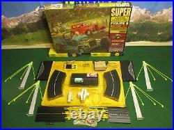 Super AURORA MoDEL MoToRING Golden Gate T Jet Wide Track Race Slot Set