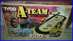 TYCO A-TEAM Action Racing 1983 SLOT CAR TRACK VINTAGE WORKING RARE