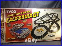 TYCO Magnum 440-X2 California GT slot car race track