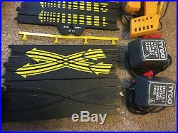 TYCO RACING SLOT CAR TRACK MAGNUM 440-X2 GT RACETRACK SET 126 pieces