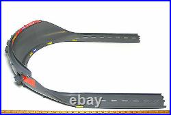 TYCO TCR Slot less Car Total Control Race HIGH BANK CURVE TRACK +15 STRAIGHTS