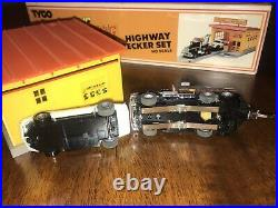 TYCO US 1 Electric Trucking Highway Wrecker Set #3444 With Box