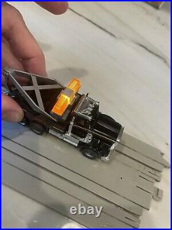 TYCO US 1 Electric Trucking Highway Wrecker Set with Switch Track #3444