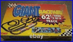 Tomy Aurora AFX Giant Raceway Rare Set 62.5 ft of Track Massive Vintage HO Scale