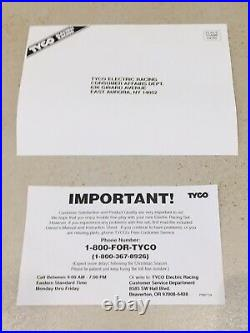 Tyco 4 Lane Cliff Hangers Slot Car Race Track COMPLETE