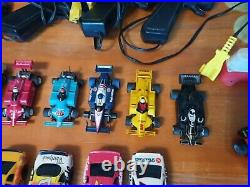 Tyco/AFX/Lifelke Runner Ho slot car Collection With Track! Must See