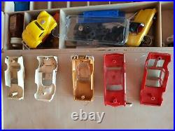 Tyco Aurora Lot Slot Cars, Track & Parts Over 150 Parts