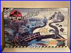 Tyco Electric Racing The Lost World Jurassic Park Slot Car Race 1997 Nisb 6242
