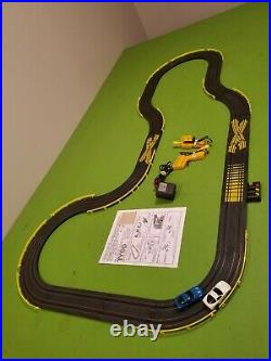 Tyco HO Slot Car 3 in 1 Race Track Set Complete/Lot With 2 440x2 Cars