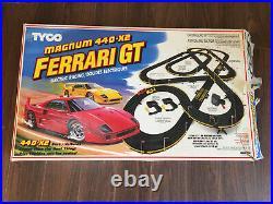 Tyco Magnum 440 X2 Ferrari GT Track Set SOME MISSING PARTS