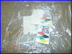 Tyco Magnum 440X2 4 Lane Racing Slot Car Set in Box 40' of Track + Cars HUGE