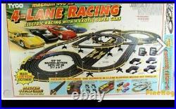 Tyco Magnum Slot Car Track #6686