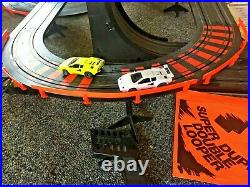 Tyco Race Track Super Duper Double Looper complete, both cars