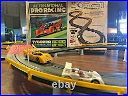 Tyco Race Track Tycopro International Pro Racing