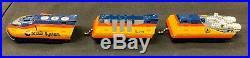 Tyco Rare Chessie Ho Turbo Train Single Lane Slot Car Track Set Mint In Box
