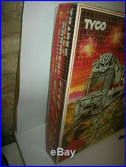 Tyco Transformers Electric Train & Battle Set Slot Car Track Vintage Arcofalc