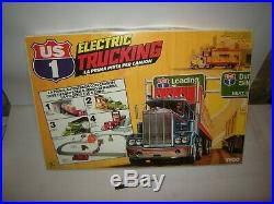 Tyco Us1 Electric Trucking Track Slot Car Camion Arcofalc Vintage Mib