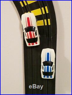 Tyco Zero Gravity Cliff Hangers HO Slot Car Race Track Set Complete Lot