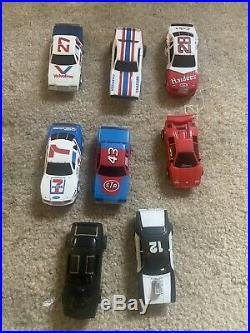 Tyco slot cars And Track