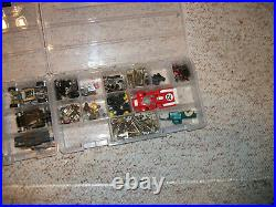 VINTAGE AURORA MODEL MOTORING HO SLOT CAR TRACK and Controllers and CARS