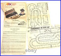 Vintage 1960's Strombecker THUNDERBOLT III Race Track 1/32 Scale