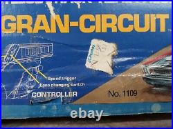 Vintage 70's IDEAL TCR Slotless Total Control Racing Slot Cars Race Track- NOS