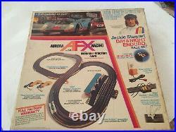 Vintage AFX Jackie Stewart Day & Night Enduro Slot Car Race Racing Set Box Track