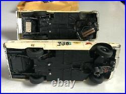 Vintage Amt Authentic Model Turnpike Pontiac & Steering Wheel Tc 206