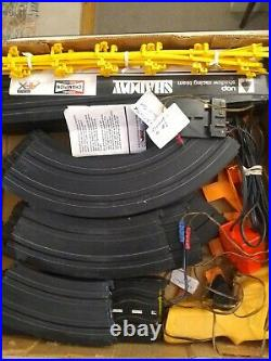Vintage Aurora AFX Slot Car Track SEARS Penske Special Raceway MAGNA Traction