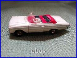 Vintage Aurora HO Scale Slot Car Lot Ford Fairlane, Thunderbird, Wagon, Track +