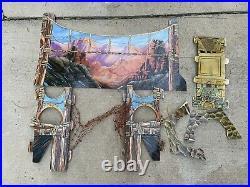 Vintage Canyon of Doom Slot Car 1991 MARCHON COMPLETE