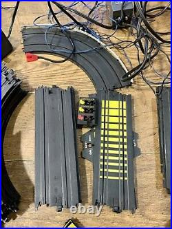 Vintage HO Slot Cars Track and Accessories