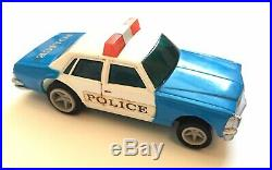 Vintage Matchbox RACE and CHASE Power Track Set Police Car Corvette U Turn RARE