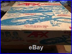 Vintage Model Motoring AFX Slot Car 4 Lane Race Racing Set Box Track Car. RARE