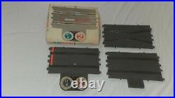 Vintage REVELL SLOT CAR TRACKS 1/32 Scale 1964/65 49 Pieces