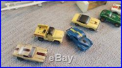 Vintage Rare Aurora Cars Model Motoring T/JET Slot Cars Race Track+