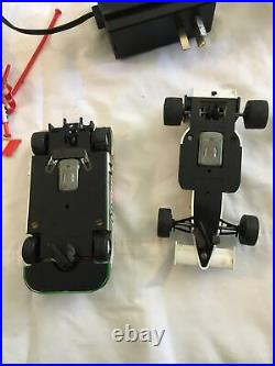 Vintage Scalextric Slot Car Set Extras track transformer And Much More