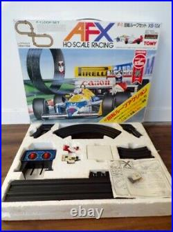 Vintage Tomy AFX XS-104 F-1 Loop Set Slot Car Track Mint In Box Excellent Tyco