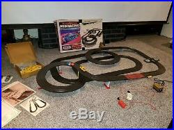 Vintage Tyco pro track and cars All American Pro Racing H. O