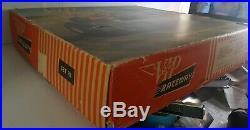 Vintage VIP raceways remote controlled electric slot car set box tracks manual