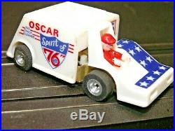 WOW AJ's Oscar the Track Cleaner Spirit of 76 White/Blue/Red WOW